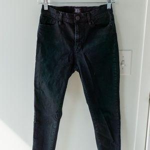 BDG Twig High Rise Crop Black Jean